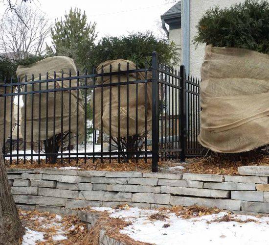 4 3 Rail Spear Top Fence Installation