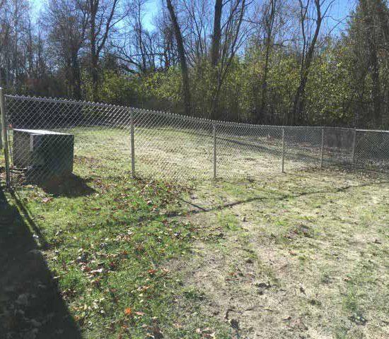 4 Galvanized Chain Link Fences